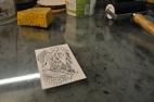 Polyester plade lito - introkursus 16.11.13 057