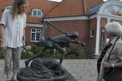 Museet er opstået omkring den lokale - og internationalt anerkendte - billedhugger Niels Hansen Jacobsen.