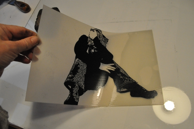Vejledning - Polyester plade litografi 090